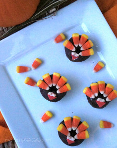 Delicious Donut Turkey Treats