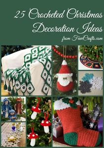 25 Crocheted Christmas Decoration Ideas