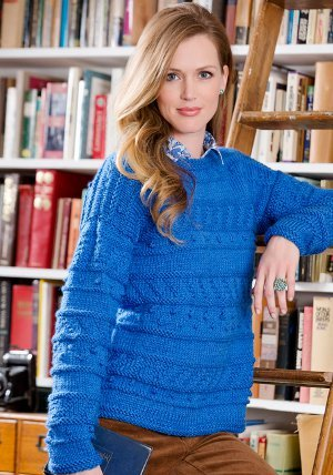 Sapphire Knit Pullover