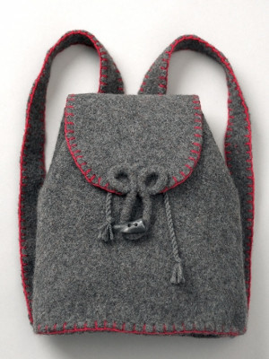 Adventure Ready Felted Backpack