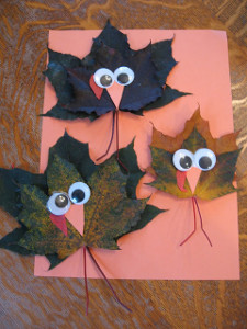 Toddler Maple Leaf Turkey