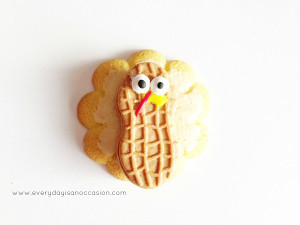 Deliciously Clever Turkey Cookies