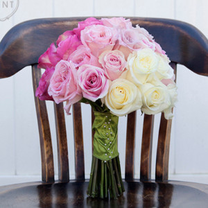 Pink Ombre Rose DIY Bouquet