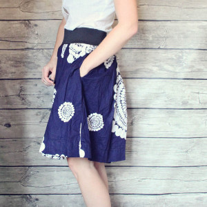 Lazy Day Free Skirt Pattern