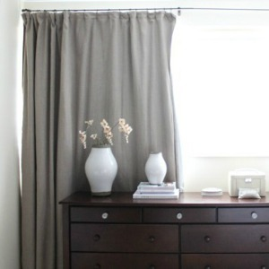 Sleeping Soundly DIY Curtain Pattern