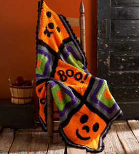 Fantastically Festive Halloween Crochet Afghan