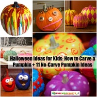 Halloween Ideas for Kids: How to Carve a Pumpkin + 11 No-Carve Pumpkin Ideas