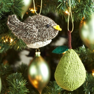 Partridge in a Pear Tree Ornaments