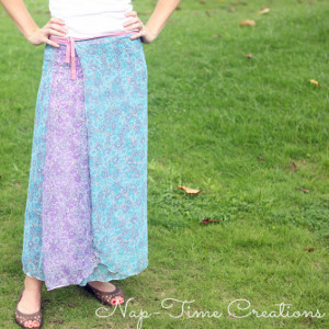 Meadowlands Wrap Skirt Tutorial