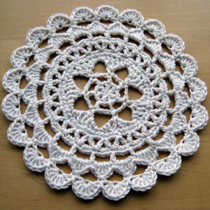 Prettiest Passion Flower Doily