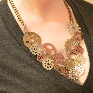 Very Edgy Statement Necklace
