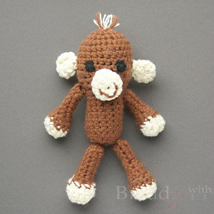 Jumpin' Monkey Amigurumi Pattern
