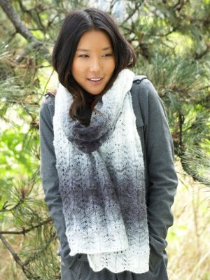 Lacy Ripple Scarf