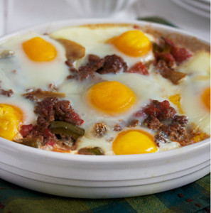 Easy Mexican Breakfast Casserole
