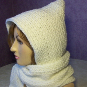 My First Hooded Scarf