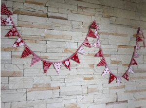 Mini Christmas Bunting Tutorial
