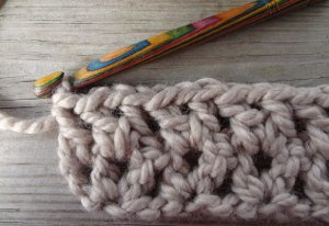 How to Crochet the V Stitch Tutorial