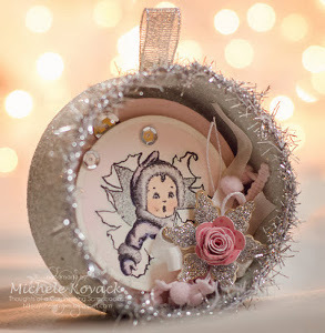 Adorable Eskimo Christmas Ornament