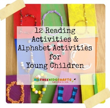 Teaching Ideas: 12 Reading Activities and Alphabet Activities for Young Children