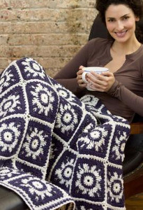 Winter Sky Crochet Snowflake Pattern