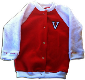 Boys Retro Varsity Jacket