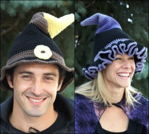 Festive Witch and Wizard Hat