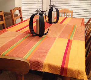 Last Minute Thanksgiving Tablecloth