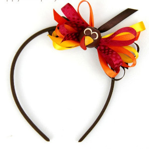 Thanksgiving Turkey DIY Headband