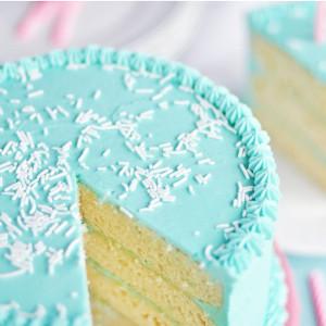 Vanilla Butter Birthday Cake