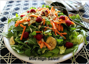 Mile High Restaurant Style Salad