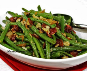 Lily's Super Simple Maple Green Beans