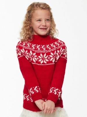 Child's Yuletide Sweater