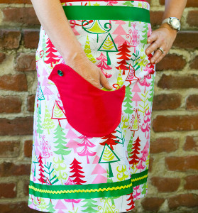 Homey Holiday Apron
