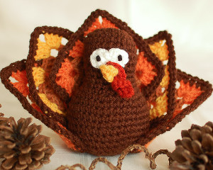 Granny Square Thanksgiving Turkey