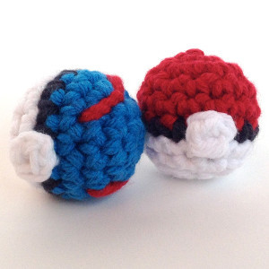 Pokeball Power Crochet Pattern