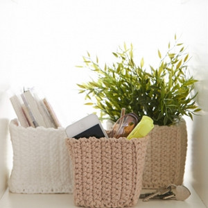 Dorm Organizer Square Baskets