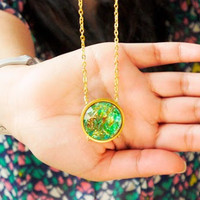 Rain Forest Green Pendant