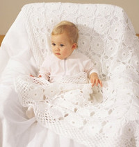 17 Pearl White Crochet Blanket Patterns