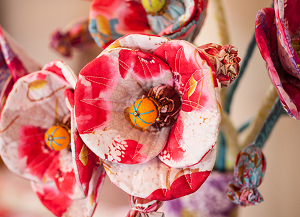 Memory Lane Poppy Bouquet