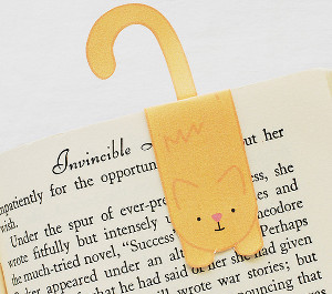 Cute Kitty Printable Bookmark