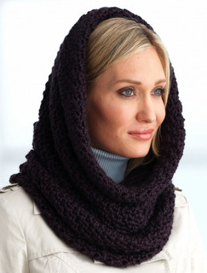 World's Softest Crochet Cowl