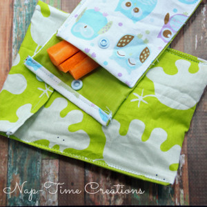 Snack Time DIY Sewn Bag