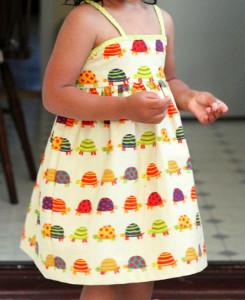 Simple Summer Dress for Girls