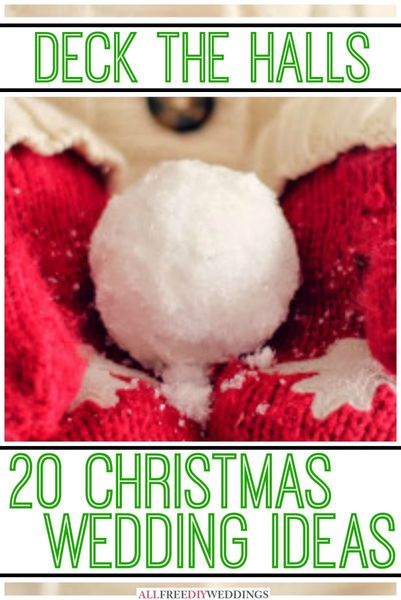 20 Christmas Wedding Ideas