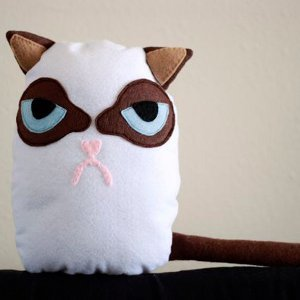 Mad Cat Stuffed Animal Pattern