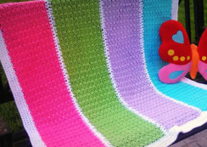 Amazing Grace Crochet Baby Blanket