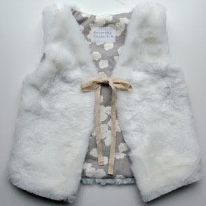 Cuddlebug DIY Faux Fur Vest
