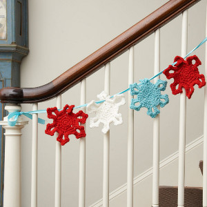 Winter Snowflake Garland