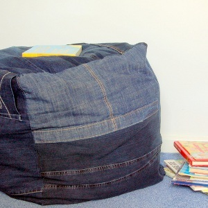 Blue Jean Dorm Seating