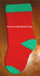 Simply Festive Christmas Stocking
